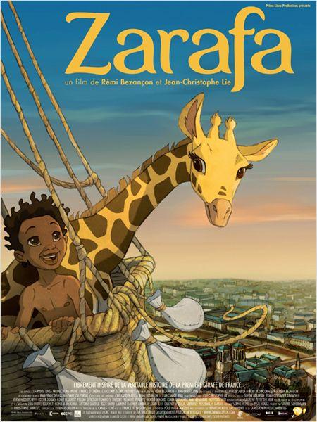 affiche-Zarafa dans Archives